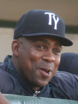 Marcus Thames - Thames coaching the Tampa Yankees in 2013