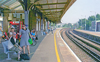 Margate railway station - Platform view