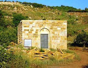 History of Kfarsghab - Saint Augustine Church in Kfarsghab undergoing renovation
