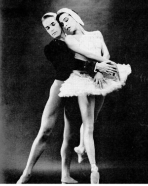 Maria Tallchief - Maria Tallchief with Erik Bruhn in 1961.