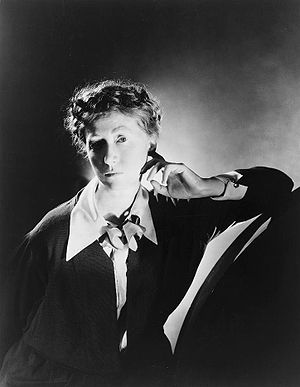 American poet and writer Marianne Moore (1887–...