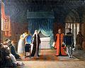 Marie Stuart reine d Écosse recevant sa sentence de mort que vient de ratifier le Parlement-Jean-Baptiste Vermay-MBA Lyon 2014-02.jpeg