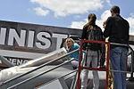 Marine le Pen Dassault Rafale Paris Air Show 2015.JPG