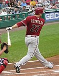 Mark Reynolds des Arizona Diamondbacks(équipe de baseball)