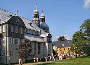 Clausthal-Zellerfeld - Church in 2005
