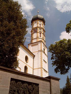 Marktoberdorf - Image: Marktoberdorf, Pfarrkirche Sankt Martin foto 2 2009 06 05 14.01