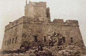 Marsalforn Tower - Image: Marsalforn Tower 1924