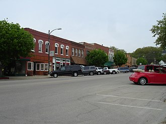Marseilles, Illinois - Buildings in the city's business district