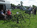 Marsworth Steam Rally - A display of old bicycles - geograph.org.uk - 1354576.jpg