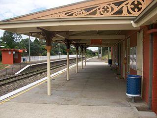 Marulan railway station