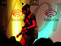 Marvel vs. Capcom 2 skit at WonderCon 2010 Masquerade 1.JPG