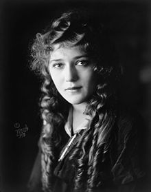 L'actriz canadiense Mary Pickford.