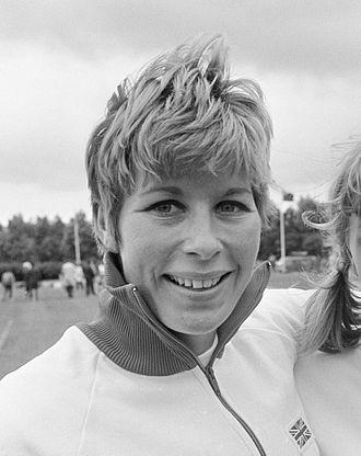 Mary Rand - Rand in 1966