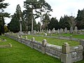Mass grave of some of the men killed in the explosion at the gunpowder works in Uplees in 1916 - geograph.org.uk - 1086410.jpg