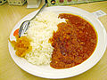 Matsuya Fresh tomato curry and rice.jpg