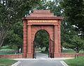 McClellan Gate - looking E - Arlington National Cemetery - 2011.JPG