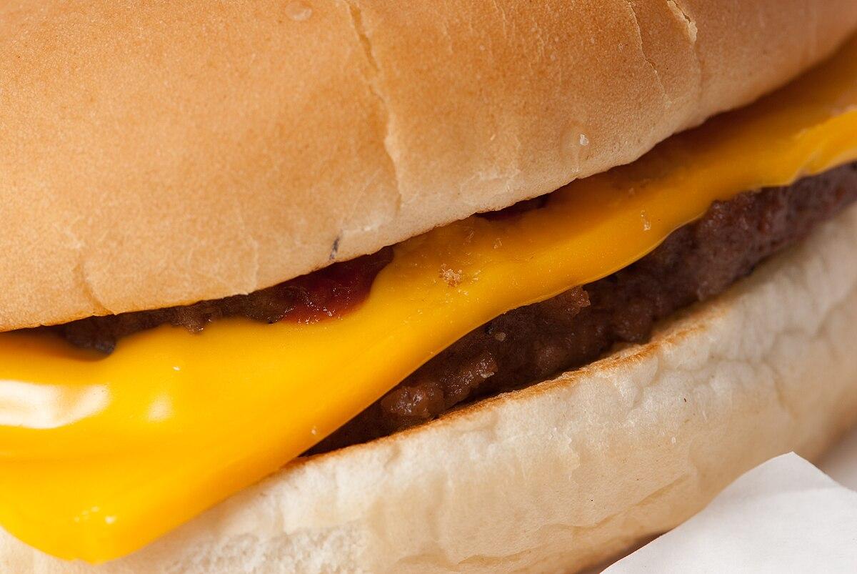 que es un hamburguesas de queso