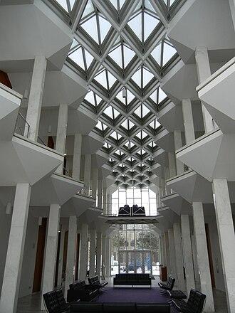 McGregor Memorial Conference Center - McGregor Center Atrium