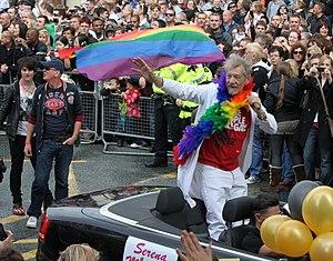 Ian McKellen - McKellen at Manchester Pride 2010