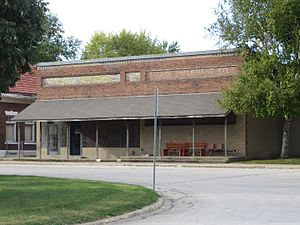 McLean, Illinois - Old building in McLean