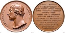 Medaille für Barthold Georg Niebuhr 1842 (Quelle: Wikimedia)