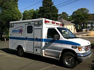 ambulance service in Mendocino County, California, United States