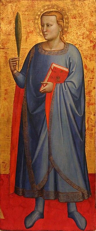 October 25 (Eastern Orthodox liturgics) - Image: Meester van de Madonna van Barmhartigheid H.Miniatus