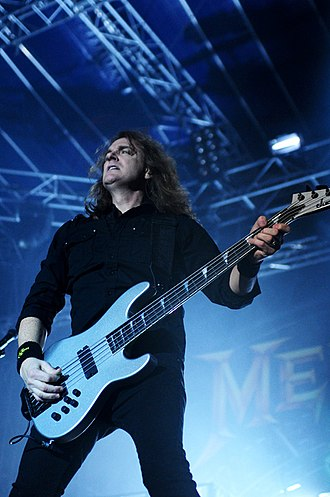 David Ellefson - Dave Ellefson playing with Megadeth at Arena Joondalup (2010)