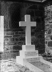 Memorial of Revd Hugh E Williams (1836-93), Llanaelhaearn