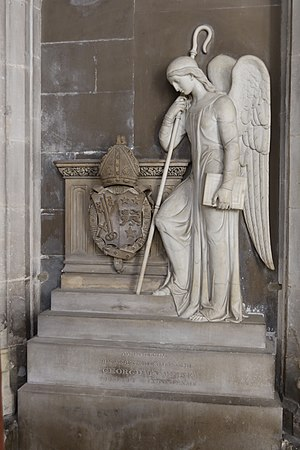 George Pretyman Tomline - Memorial in Winchester Cathedral
