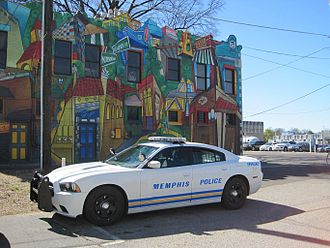 Memphis, Tennessee - A Memphis Police Department vehicle