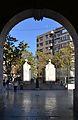 Mercat d'Abastos de València, arc d'entrada.JPG