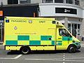 Mercedes Ambulance licence registration 'RX54 GGF' at Brighton pic2.JPG