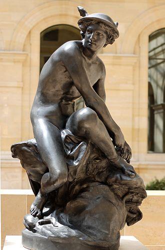 Jean-Baptiste Pigalle - Image: Mercury Pigalle Louvre RF3023