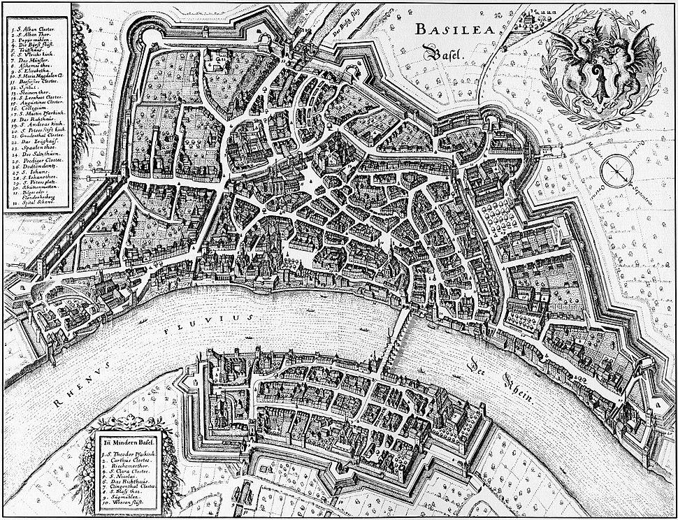 Merian Basel 1642