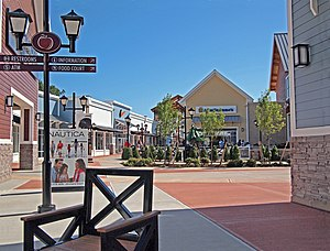 Merrimack, New Hampshire - Merrimack Premium Outlets shopping center