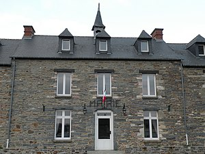 Messac, Ille-et-Vilaine - The town hall of Messac