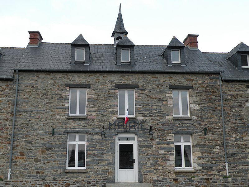 Town hall of Messac, Ille-et-Vilaine