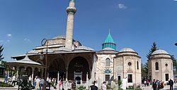 Mevlana Museum (1274) di Konya