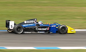 Michael Herck - Herck driving for Comtec Racing at the Donington Park round of the 2007 Formula Renault 3.5 Series season.