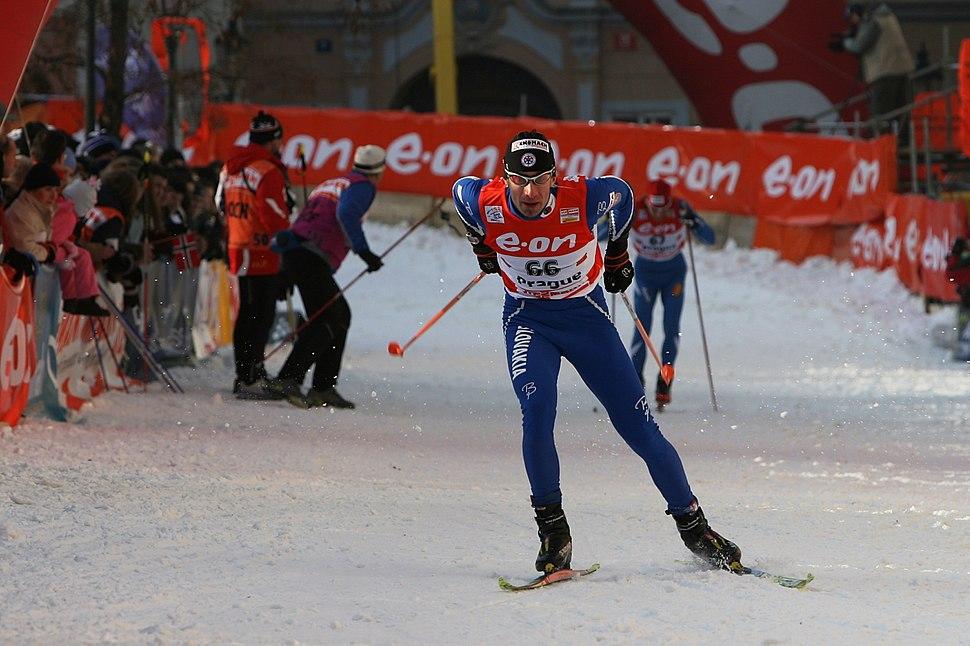 Michal Malak at Tour de Ski retouched