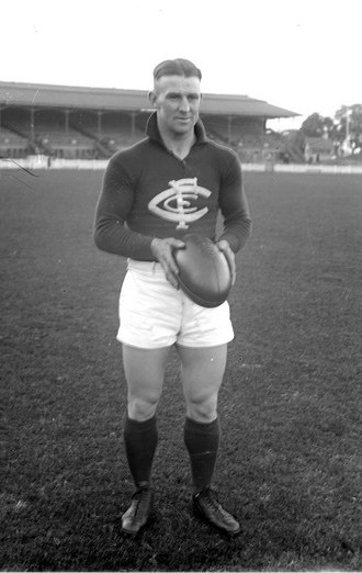 Mickey Crisp - Crisp during his Carlton career
