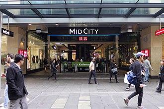 Mid City Centre - Mid City Sydney facade from Pitt Street
