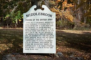 Middlebrook encampment - Enigma of the British Army