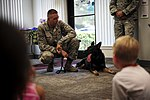 Military working dog unit visits local library 150715-F-SN009-015.jpg