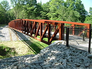 City of Parks - The newly completed bridge over Mill Creek near Shively