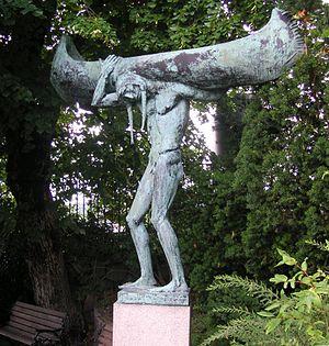 Millesgården - Image: Milles Kanu