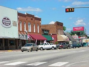 Mineola, Texas - Downtown Mineola