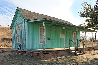 Thurber, Texas - Image: Miner's house in Thurber, Texas