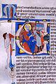 Miniatore di S Alessio in Bigiano - Leaf from Bentivoglio Bible - Walters W151404V - Reverse Detail.jpg